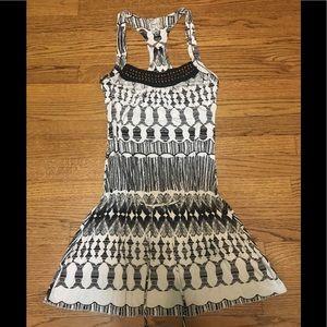 Guess black&white dress